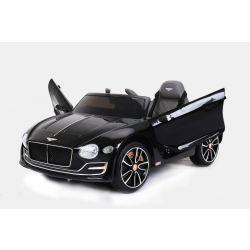 Elektrické autíčko Bentley EXP 12 Prototyp, 12V, 2,4 GHz dálkové ovládání, otvíravé dveře, EVA kola, kožené sedadlo, 2 X MOTOR, černé, ORGINAL licence