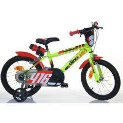 "DINO Bikes - Dětské kolo 16 ""416US - černo-červený 2017"