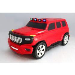 Dětské Licencované odrážedlo a kufřík 2v1 Mercedes-Benz Ener-G-Force červené