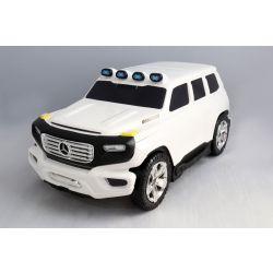Dětské Licencované odrážedlo a kufřík 2v1 Mercedes-Benz Ener-G-Force bílé