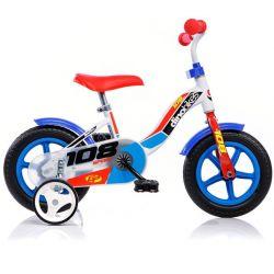 """DINO Bikes - Dětské kolo 10 """"108LB - modrý 2017"""