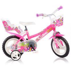 """DINO Bikes - Dětské kolo 12 """"126RL - růžový 2017"""