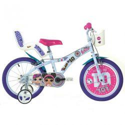 "DINO Bikes - Dětské kolo 16 ""616GLOL - LOL SURPRISE"