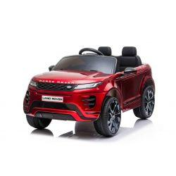 Elektrické autíčko Range Rover Evoque, Jednomístné, červené lakované, Kožená sedadla, MP3 Přehrávač s přípojkou USB / SD, Pohon 4x4, Baterie 12V10AH, EVA kola, Odpružené nápravy, Klíčová třípolohové startování, Bluetooth Dálkový Ovladač, Licence
