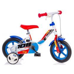 """DINO Bikes - Dětské kolo 10 """"108FLB - Boy 2017"""